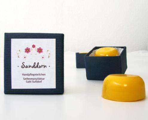 HandpflegeTeilchen Sanddorn, Foto: Gabi Sussdorf