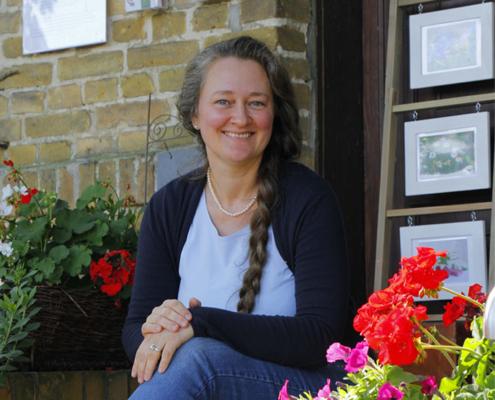 Bild Kontaktseite - Porträt Gabi Sußdorf - Seifenmanufaktur, Foto: Sabine Rübensaat, Bauernzeitung