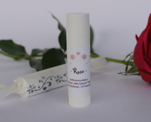 Lippenpflege Rose, Foto: Gabi Sußdorf